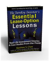 TurnKey Investor's Essential Lease-Option Lessons