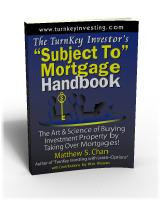 TurnKey Investor's 'Subject To' Mortgage Handbook
